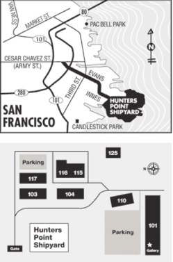 Hunters Point Shipyard Map