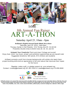 ArtSeed_Art-a-thon Flyer_2016