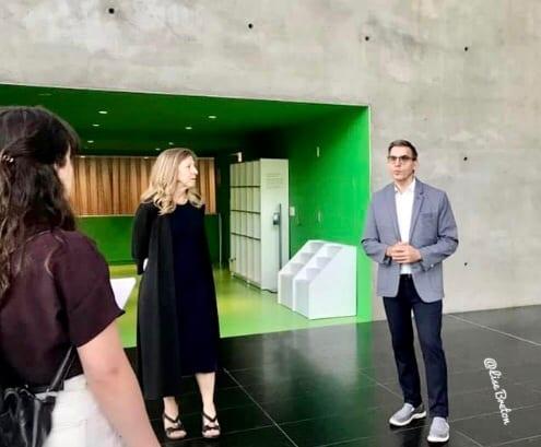 Hall d'Entrée au MNBAQ Photo @Lise Breton