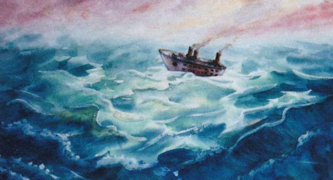 Marguerite Ghazerian Voyage en mer agitée