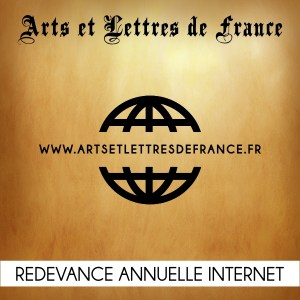 Redevance site internet Arts et Lettres de France