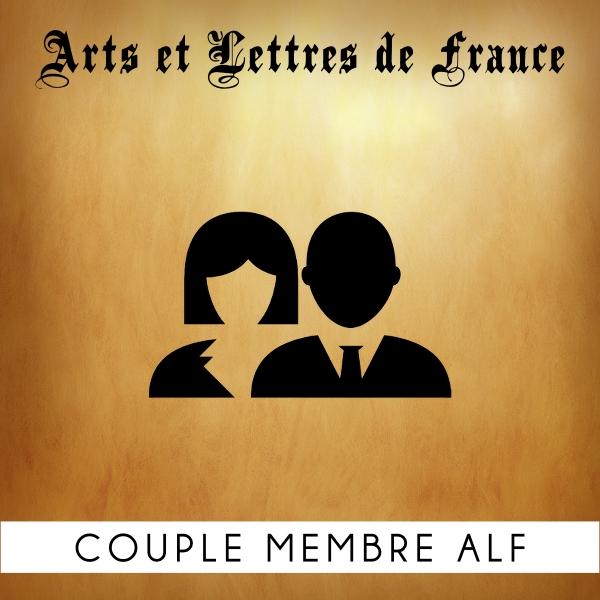 Adhésion couple membre Arts et Lettres de France