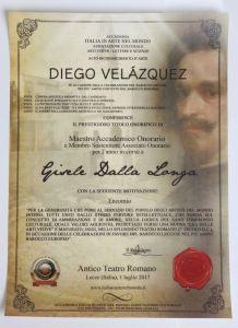 Gisèle Dalla Longa Titre Maître Académique Honoraire