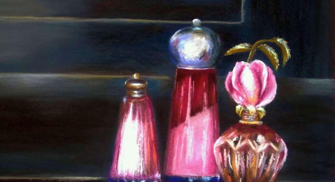 Claudette AUDRY Parfum de roses