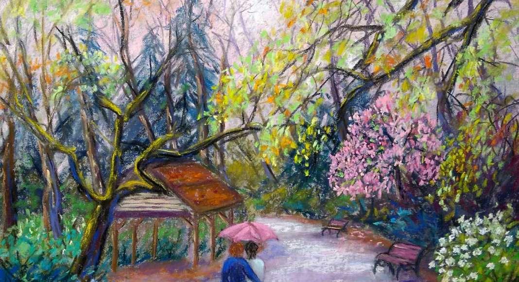 Claudette AUDRY Promenade romantique