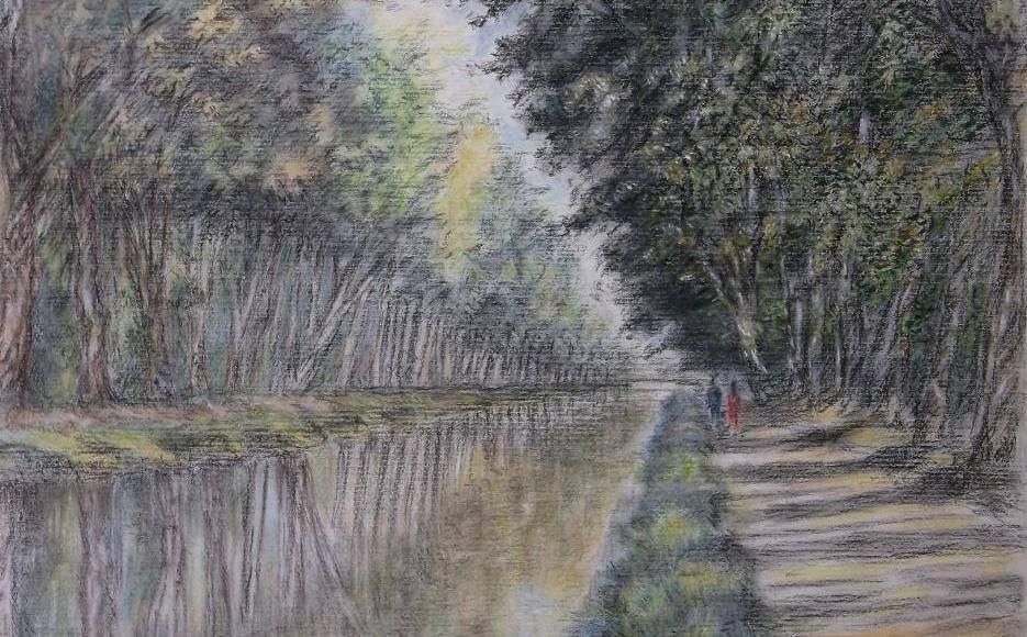 Christiane Blache - Canal du Midi