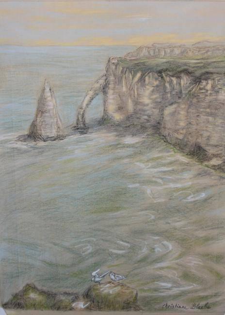 Christiane Blache - Etretat, au rythme des marées