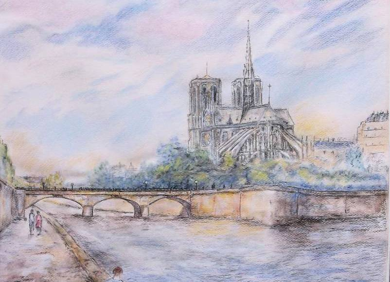 Christiane Blache - Notre Dame de Paris