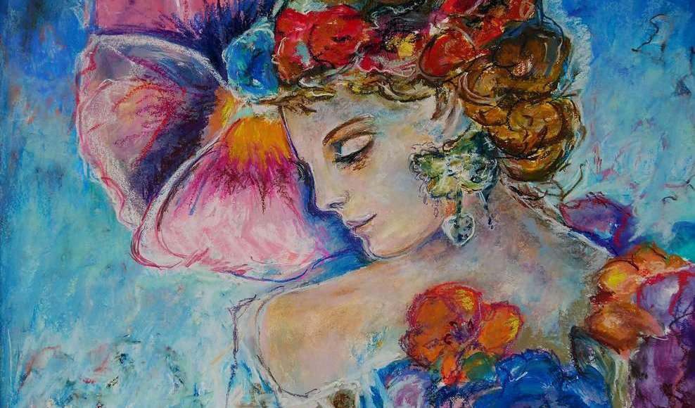 Marika Doussain - Femme en Fleurs