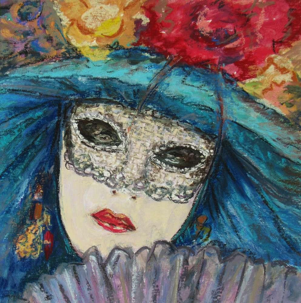 Marika Doussain - Masque Vénitien