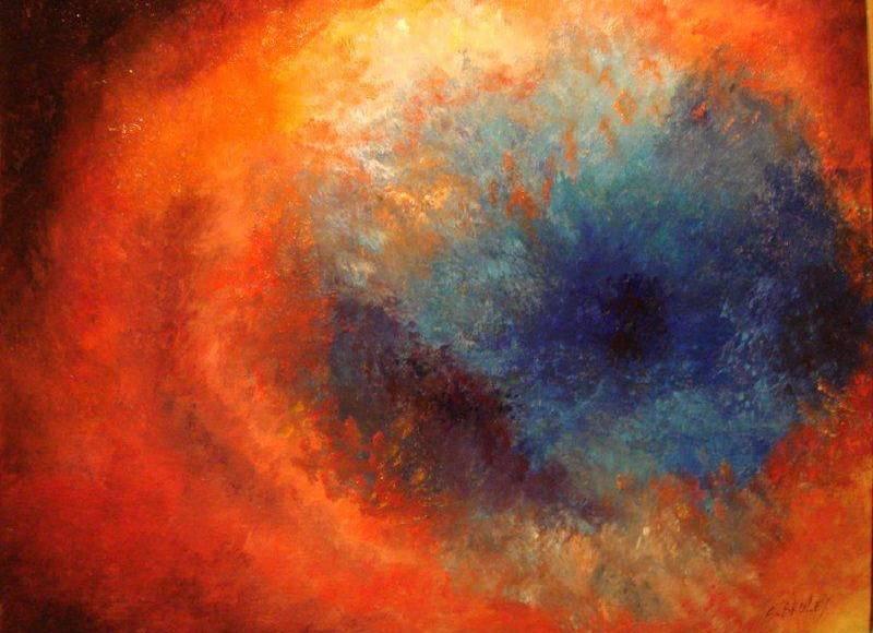 Christian Bruley - Nebuleuse Oeil de Dieu 41X33