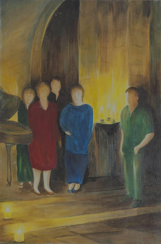 Hélène Clémençot Les bougies tranquilles