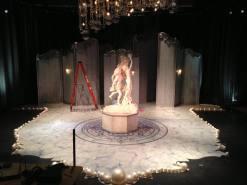 Installation onstage