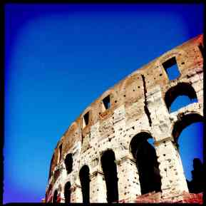 Colosseum and Sky