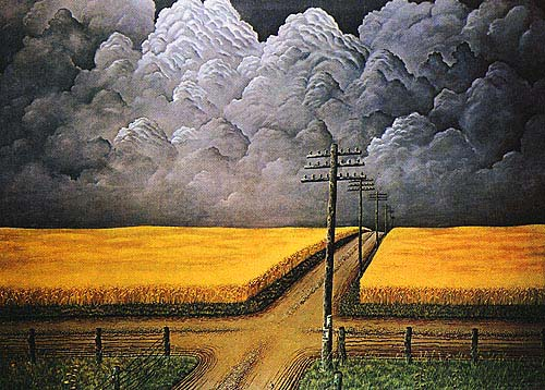Gray and Gold  John Rogers Cox