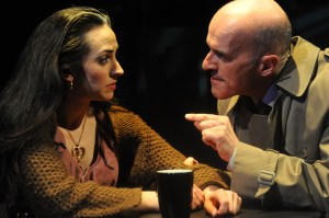 Karen Slack and Bill Hahn in a Curious production.