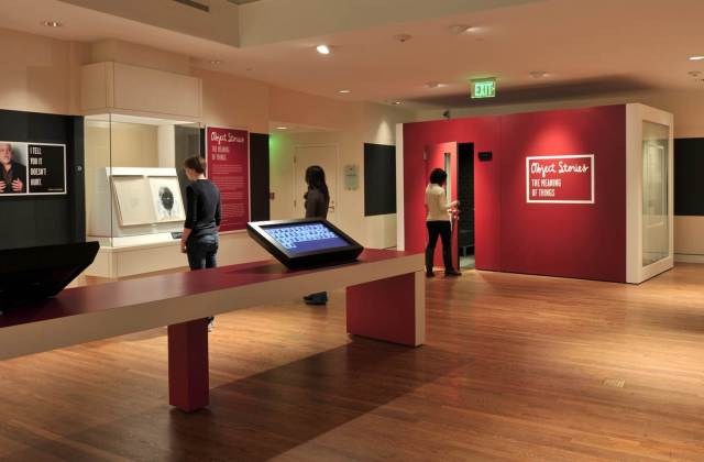 The Object Stories gallery at the Portland Art Museum.