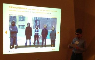 Wooster Group presents Pecha Kucha style