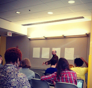 My presentation at the StoriesLab conference at American University.