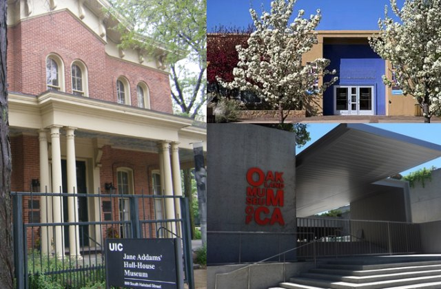 The Jane Addams Hull-House Museum, the Museum of International Folk Art, and the Oakland Museum of California will participate in Round 3 of the Innovation Lab for Museums.