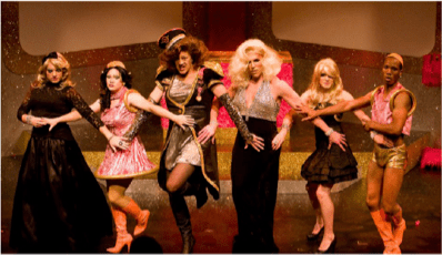 Off-Center's production of DRAG MACHINE.