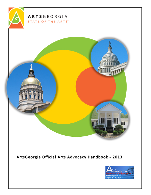 ArtsGeorgia Official Arts Advocacy Handbook - 2014