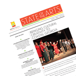 ArtsGeorgia State of the Arts Winter 2015 newsletter