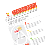 ArtsGeorgia State of the Arts Winter 2016 newsletter