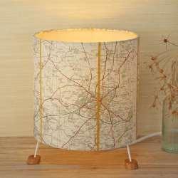 Cheltenham map shade on 3 feet