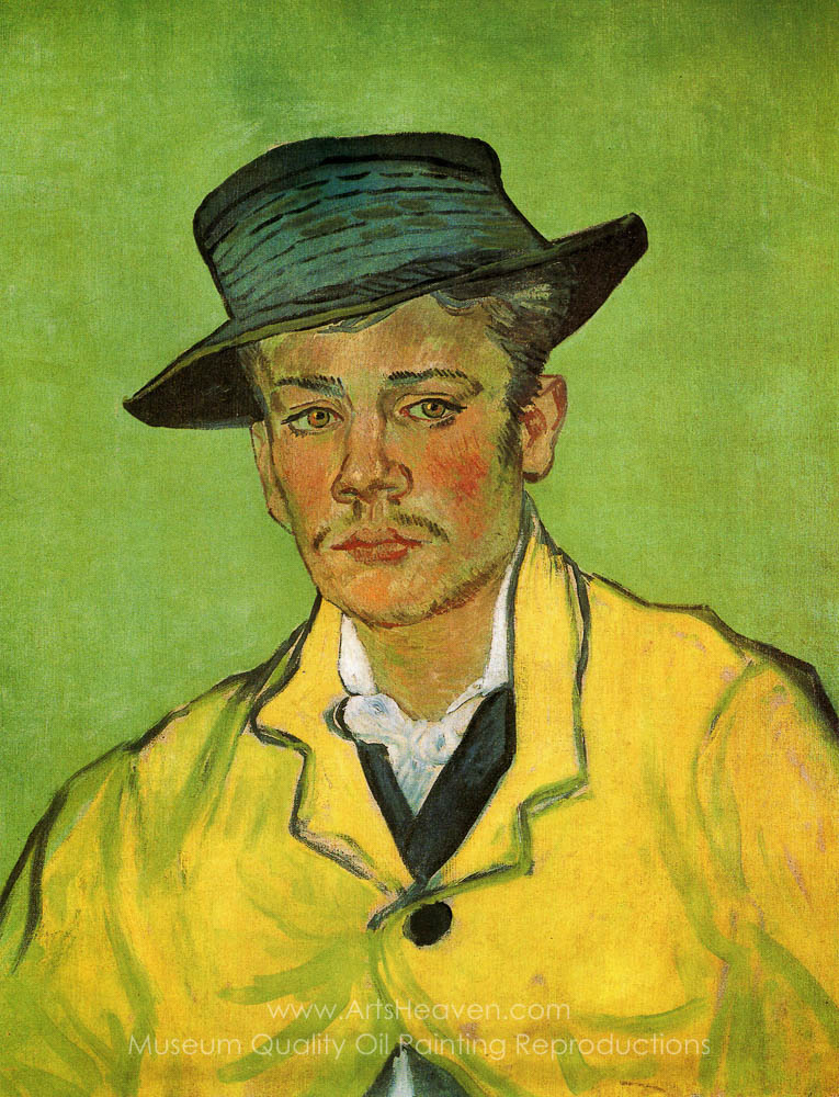 Gogh. Vincent Van Portrait of Armand Roulin Painting Reproductions. Save 50-75%. Free Shipping. ArtsHeaven.com