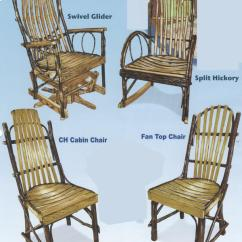 Rocker Glider Chair Office Pads This Hickory End Table And Rockers Gliders Is A Fine Example Of Amish Craftsmanship