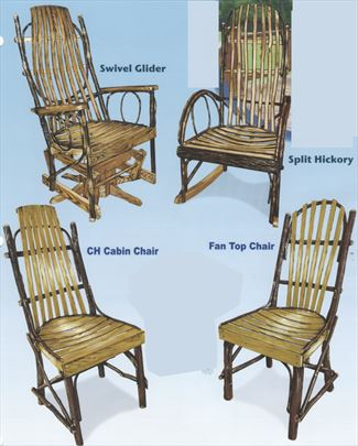 hickory chairs for sale rustic wooden uk amish furniture ohio rockers gliders with hardwood slats