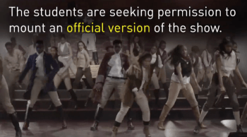 "Wexford Collegiate ""Hamilton"" video via CBC"