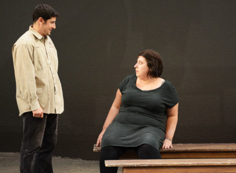"Jason Biggs and Ashlie Atkinson in ""Union Square Incident"" by Warren Leight"