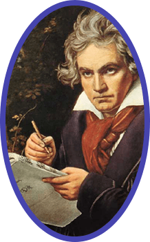 "Beethoven working on ""development"""