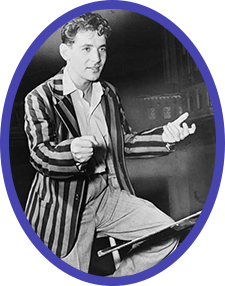 Leonard Bernstein, shortly after his momentous debut with the New York Philharmonic