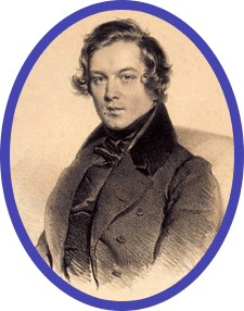"Robert Schumann told lots of stories about music in his magazine, ""Neue Zeitschrift für Musik"""