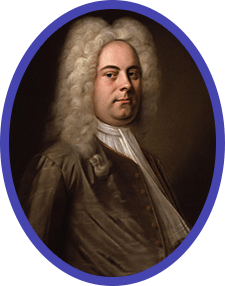 Portrait of George Frederic Handel