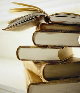piles of books (whew!)
