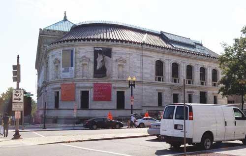 Corcoran Gallery of Art--College of Art + Design Photo by Lee Rosenbaum Photo by Lee Rosenbaum