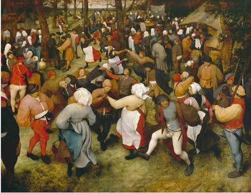 "Nothing to celebrate: Pieter Bruegel the Elder, ""The Wedding Dance,"" c. 1566, Detroit Institute of Arts"