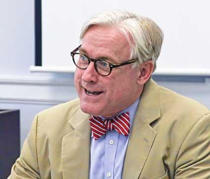 Bradley Batemen, president, Randolph College