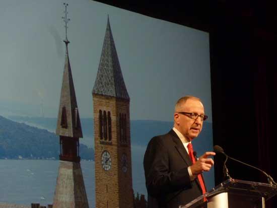 Cornell University President (soon to be Smithsonian Secretary) David Skorton