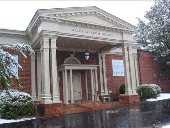 Maier Museum of Art, Randolph College, Lynchburg, VA