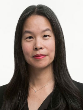 Diana Pan, chief technology officer. Museum of Modern Art Photo by Martin Seck