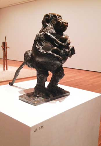 "Picasso, ""Baboon and Young,"" 1951, Museum of Modern Art Photo by Lee Rosenbaum"