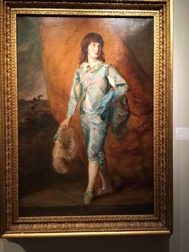 """Gainsborough, """"The Blue Page,"""" est. $3-4 million Photo by Lee Rosenbaum"""