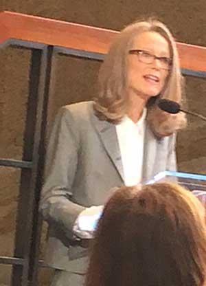 Sheena Wagstaff at Met Breuer press preview Photo by Lee Rosenbaum