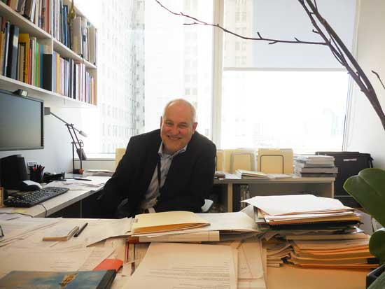 Gary Garrels in his office Photo by Lee Rosenbaum