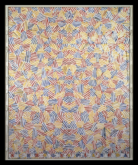 Jasper Johns. Dancers on a Plane (1979). ©2012 Jasper Johns/Licensed by VAGA, NY, NY